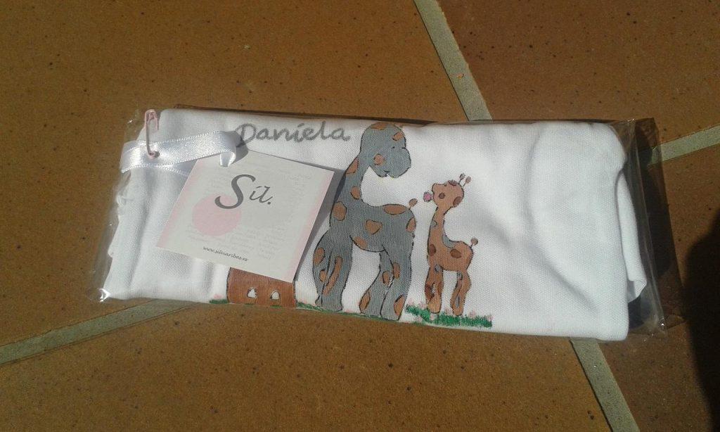 Bodi pintat a mà girafa 3